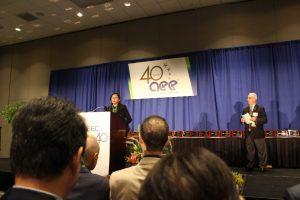 Ms. Farhana Chowdhury, attended World Energy Engineering Congress-40, in Atlanta, USA, September, 2017
